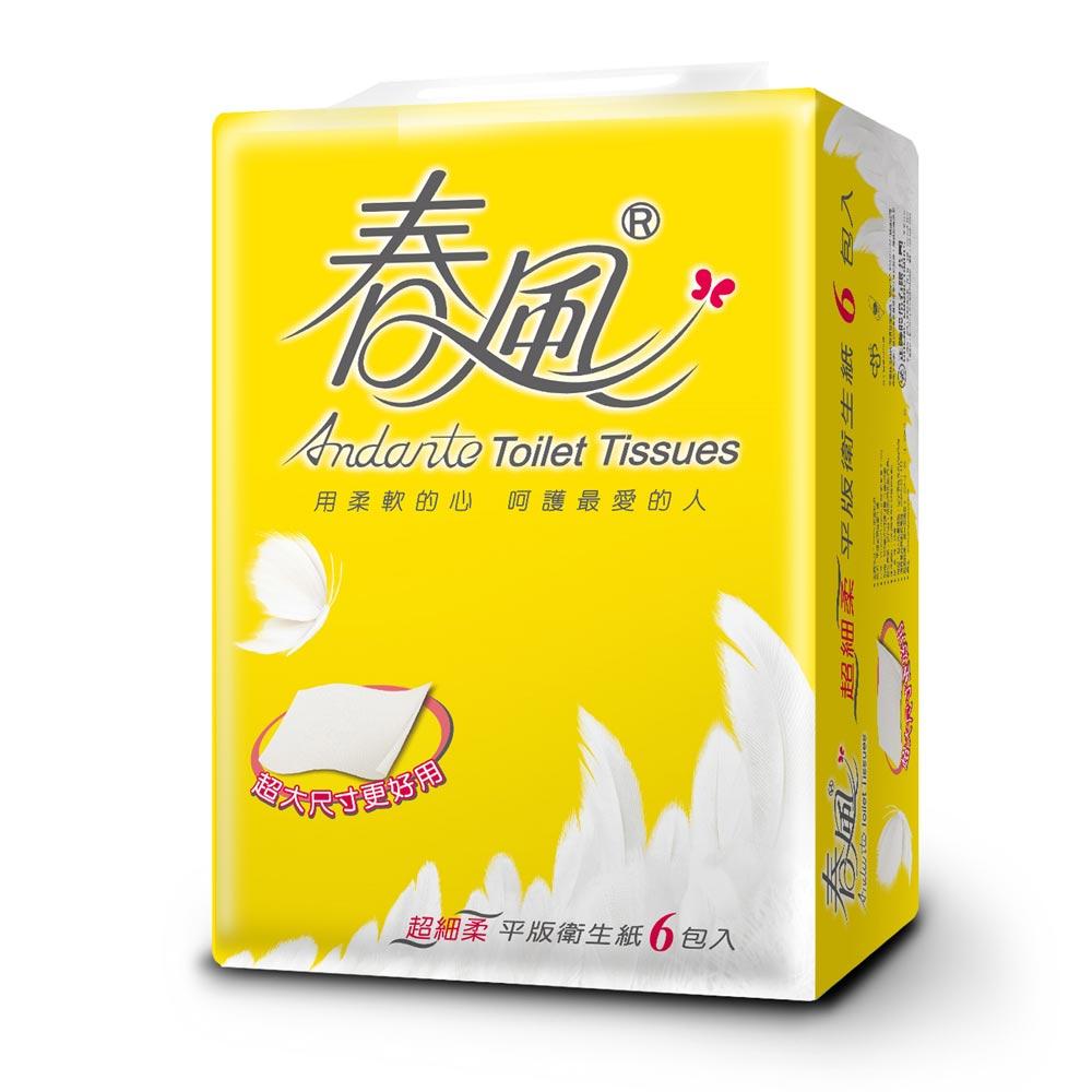 春風平版衛生紙300張x36包