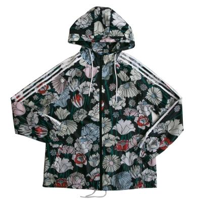 Adidas-愛迪達-連帽外套-女