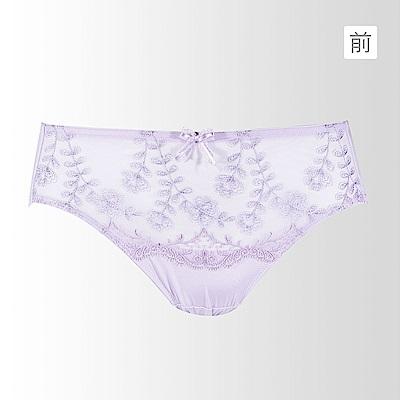 黛安芬-記憶枕Bra 魔術系列低腰內褲M-EL(薰衣紫)