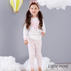 Little moni 純棉家居系列印圖成套睡衣 (共2色)