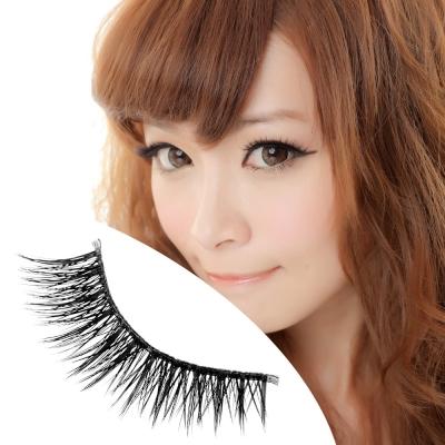 【Beauty美姬風彩 雙層假睫毛】小電眼 放射假睫毛★雙層11★附膠