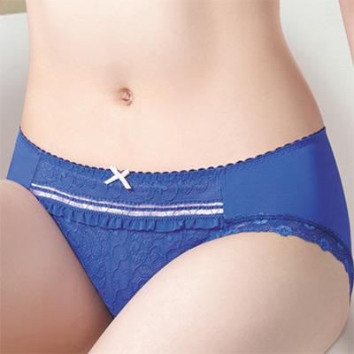 莎薇-好愛現系列M-LL低腰三角褲-青石藍