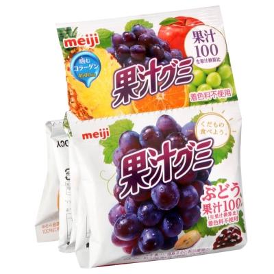 明治 5連綜合果汁軟糖(90g)