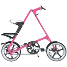 STRiDA 速立達 16吋LT折疊碟剎單車(三角形單車)- 粉紅