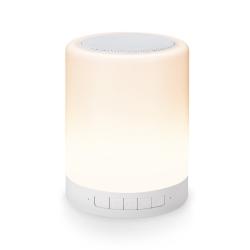E-books D14 藍牙LED觸控式夜燈喇叭