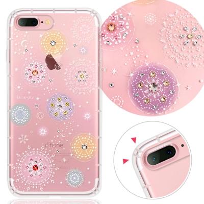 KnowStar APPLE iPhone7 Plus 奧地利彩鑽防摔手機殼-雪球花