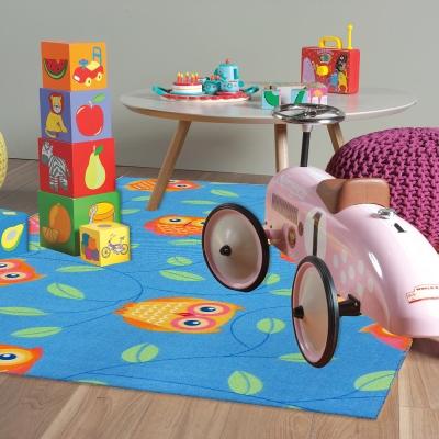 范登伯格 - 童話 進口地毯- (天藍色) (小款-100x150cm)