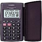 CASIO 8位數輕薄掀蓋式硬殼商務計算機HL-820LV-BK(國家考試專用機種)