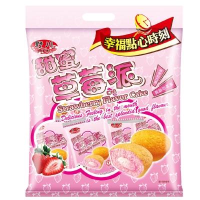 野川 甜蜜草莓口味派(19g x12入)