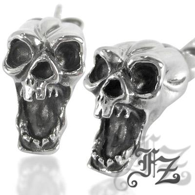 FZ 魔戒骷髏鋼飾耳環