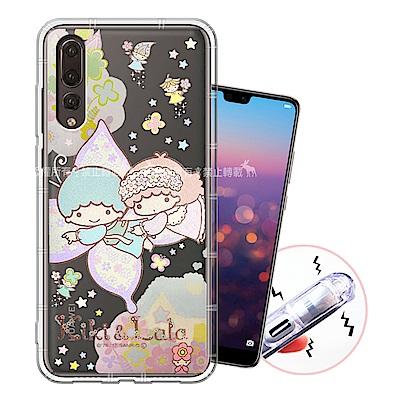 三麗鷗授權 華為 HUAWEI P20 Pro 甜蜜系列彩繪空壓殼(蝴蝶)