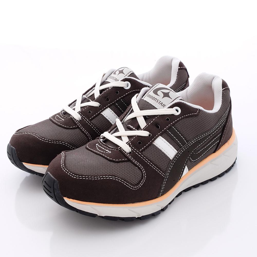 日本Supplist戶外健走鞋-防潑水3E寬楦款-ON423黑可可(女段)