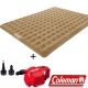 Coleman N608+21937 充氣睡墊300+電池打氣機組 露營床/充氣床/露營睡墊 product thumbnail 1