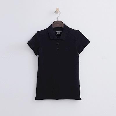 Hang Ten - 女裝 - 基本多彩POLO-黑色