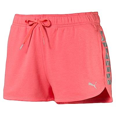 PUMA-女性基本系列SUMMER短褲-海貝粉-亞規