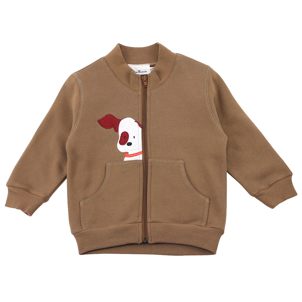 愛的世界 pappa&ciccia 皮斯卡托保暖長袖外套/6~12歲