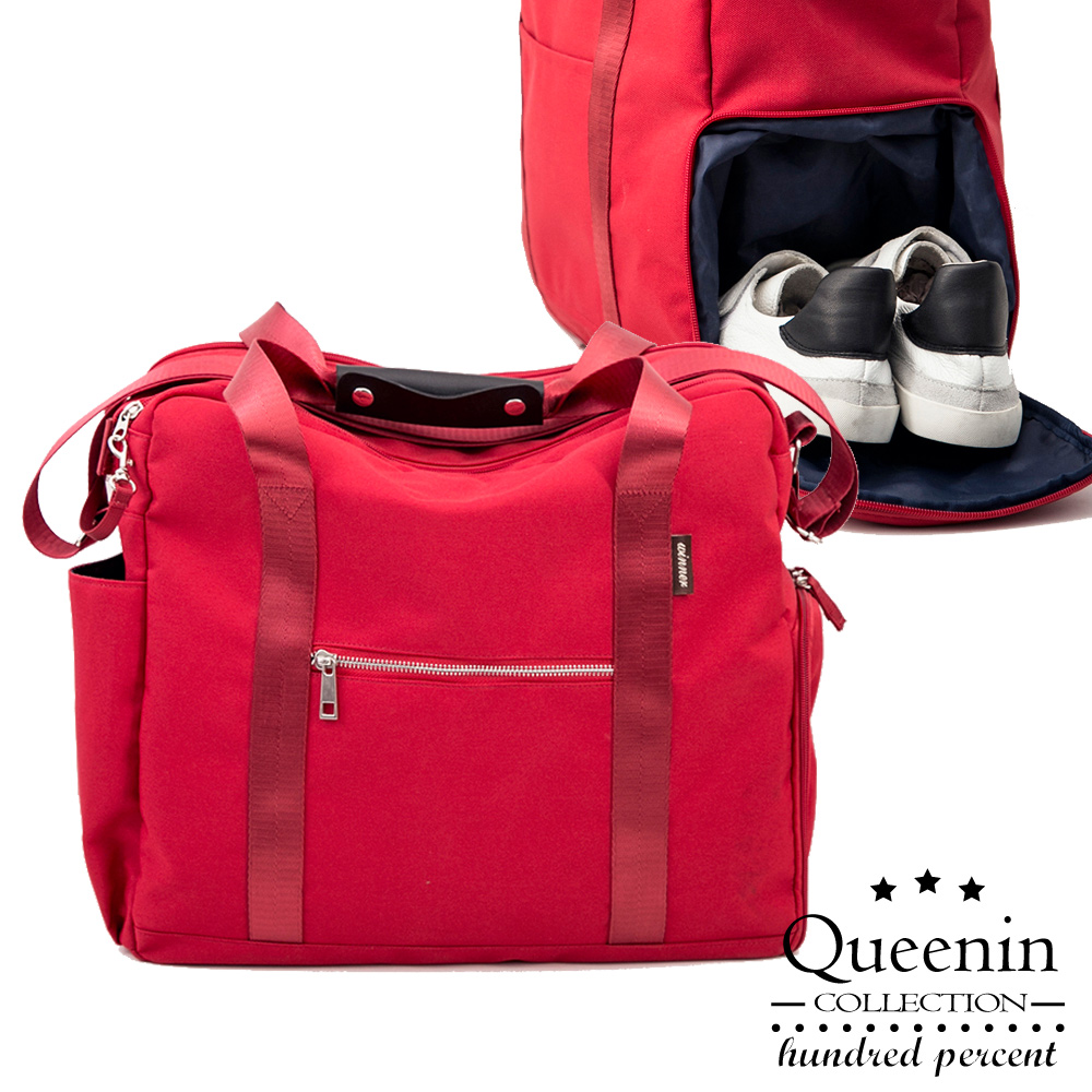 DF Queenin日韓 - 旅行實用大容量旅行包-共3色