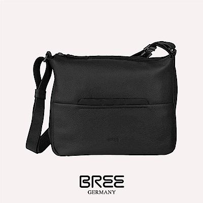 BREE Faro 2 黑色 十字肩背包 M   38-338900002