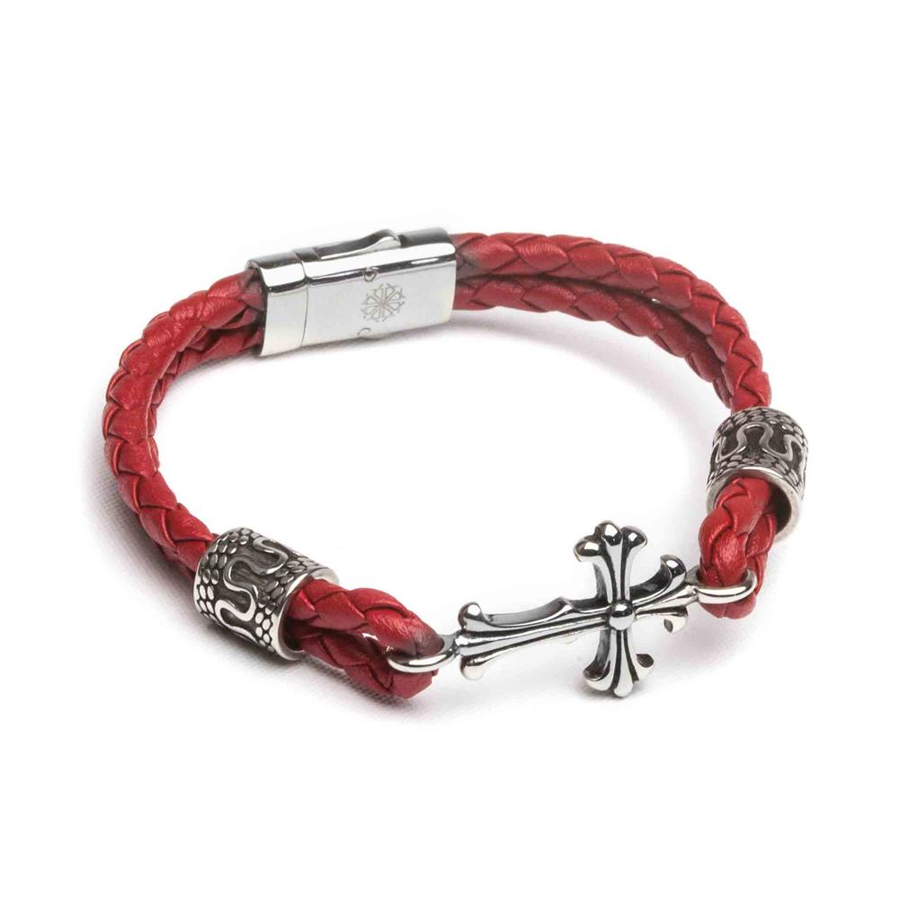 ZENGER  經典時尚皮繩系列-天使-紅