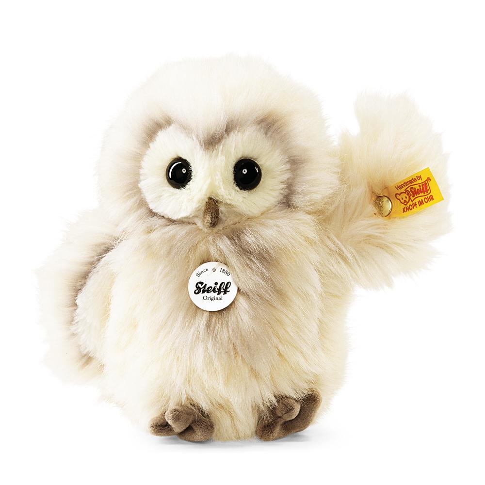 STEIFF德國金耳釦泰迪熊- Wittie Owl 貓頭鷹 (動物王國)