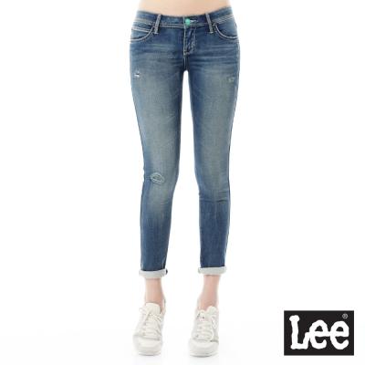 Lee 牛仔褲Jade Fusion冰精玉石 402 超低腰緊身窄管-女