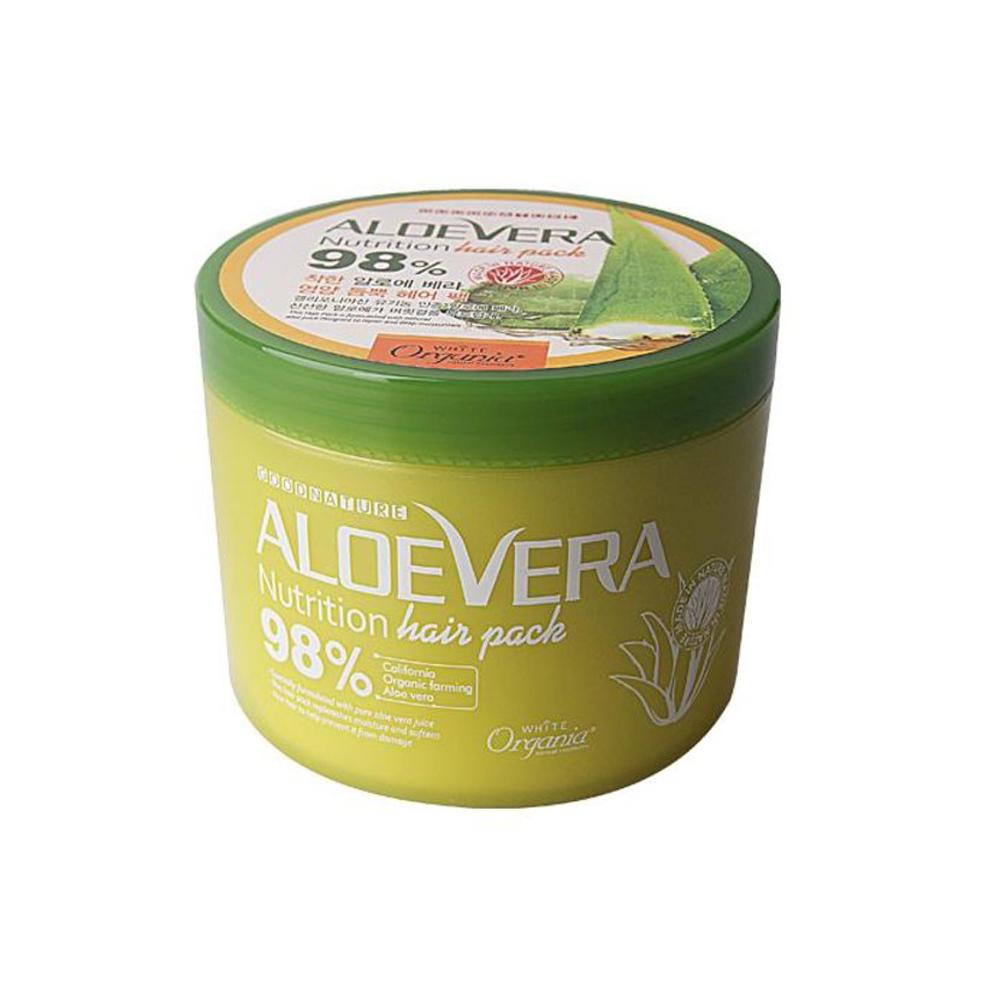 Organia歐格妮亞 蘆薈98%修護保濕髮膜500ml