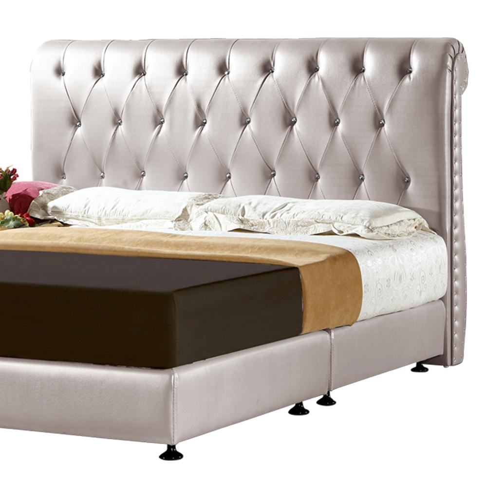 ROSA羅莎 夏茉莉銀色5尺床片(不含床底+床墊)