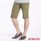 BOBSON 男款休閒版短褲