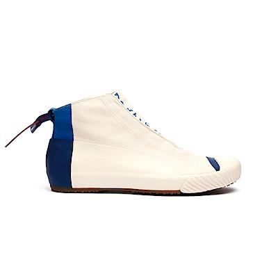 Royal Elastics London HI藍色英倫風帆布休閒鞋(男)