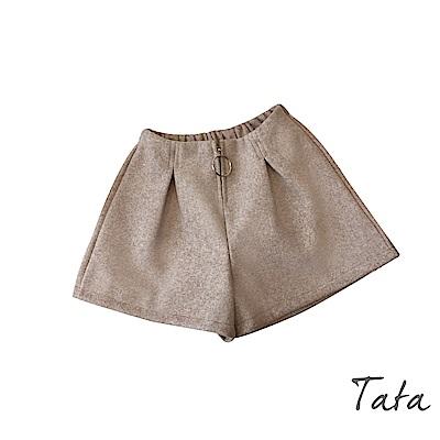 高腰毛呢短褲 共三色 TATA