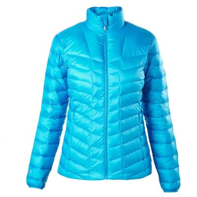 【Berghaus 貝豪斯】女款抗風防潑水羽絨外套F22F05-藍