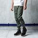 訂製格紋縮口褲(五色)-CACO