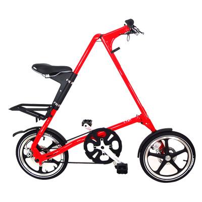 STRiDA-速立達-16吋LT折疊單車-碟剎-法拉利紅