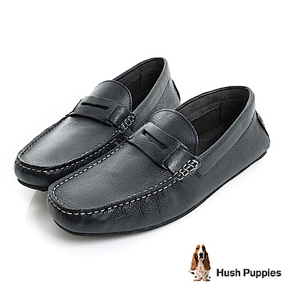 Hush Puppies VASTUS 柔軟開車鞋-深藍