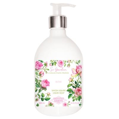 Institut Karite Paris 巴黎乳油木玫瑰花園香氛液體皂500ml