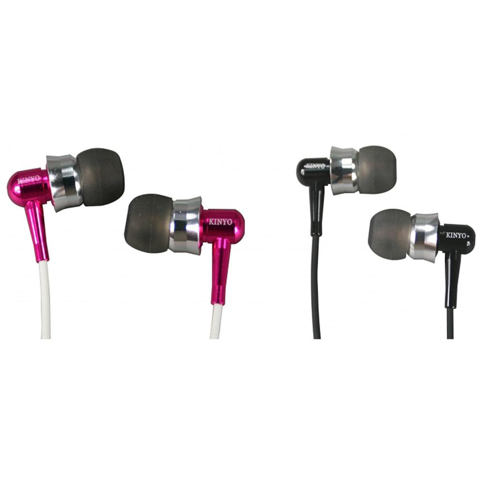 KINYO時尚繽紛耳道式耳機EMP-66