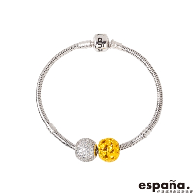 ESPANA伊潘娜 我心歸屬&璀璨人生黃金/純銀/琺瑯手鍊