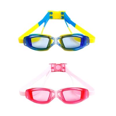 【COMET】透明平光兒童用防水防霧泳鏡(YY- 6331 )
