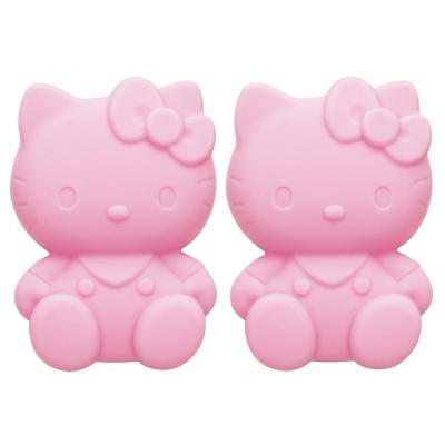 《Sanrio》HELLO KITTY造型矽膠調味粉罐(2入)
