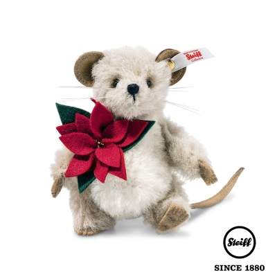 STEIFF 德國 金耳釦泰迪熊 - Lucy Mouse 小老鼠 (限量版)