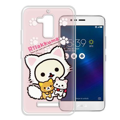 日本授權正版拉拉熊 華碩 ZenFone3 Max ZC520TL變裝彩繪手機殼...