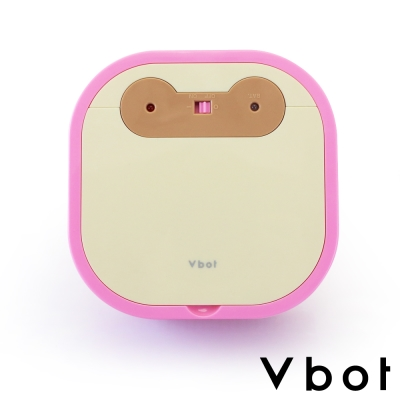 Vbot 超迷你智慧型掃地機器人(粉紅)