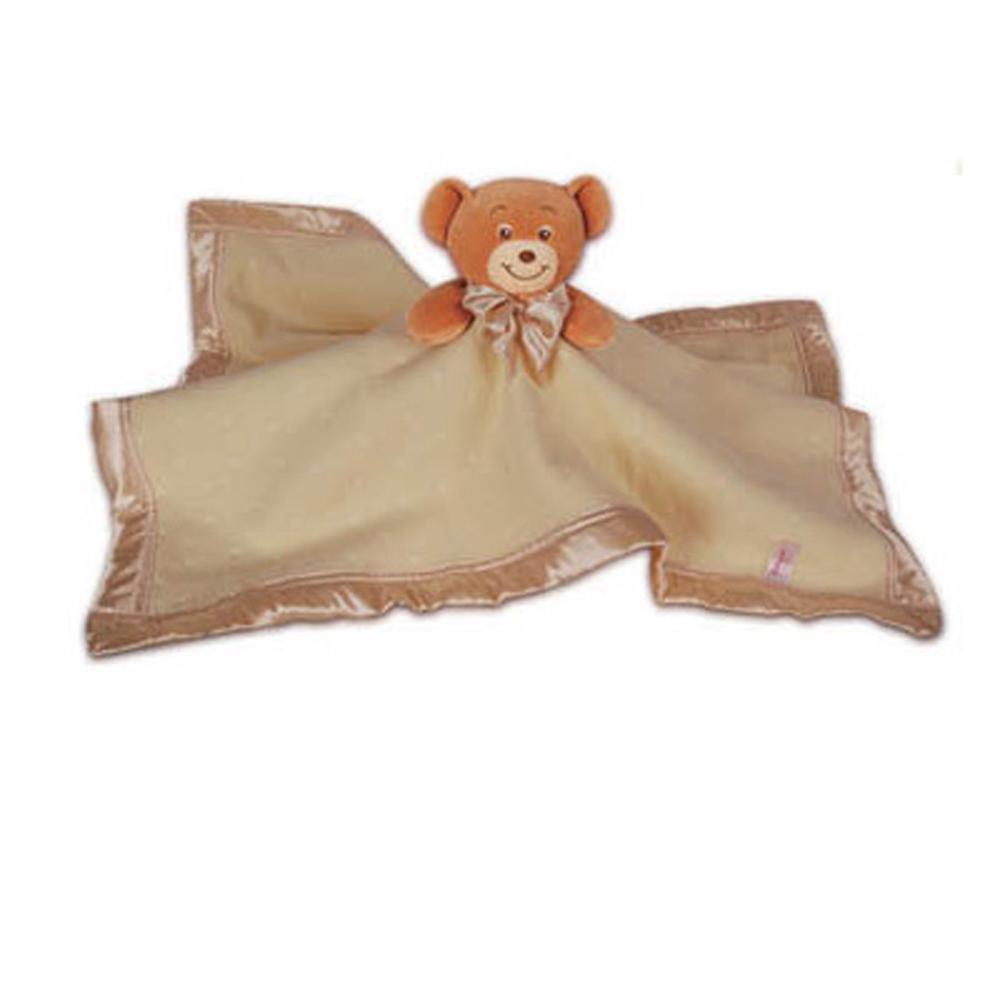 澳洲baby bow- 熊熊安撫毯(黃)