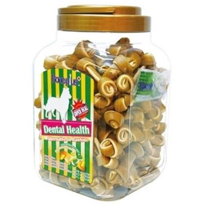 Bone Plus 黃金高鈣雙色潔牙骨結 家庭號