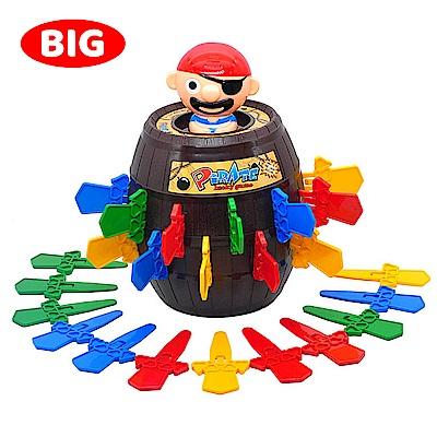 桌遊團康玩具 益智遊戲 極度彈力海盜桶 668