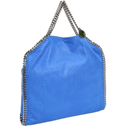 Stella McCartney Falabella Shaggy 鍊帶兩用包(藍色)