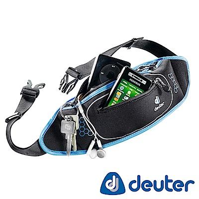 【ATUNAS 歐都納】德國DEUTER休閒旅遊防竊/慢跑隨身貼身輕量腰包39050黑藍