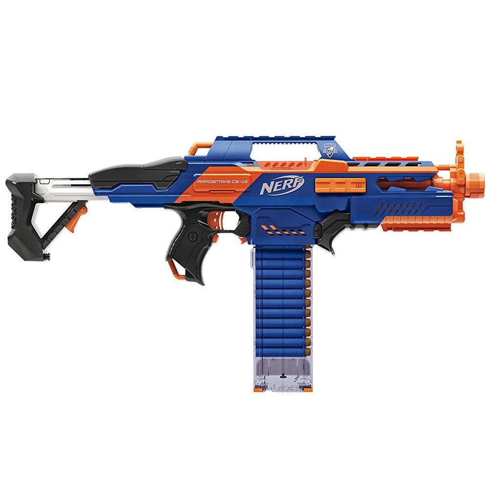 孩之寶Hasbro NERF系列 兒童射擊玩具 速擊連發機關槍 A4492