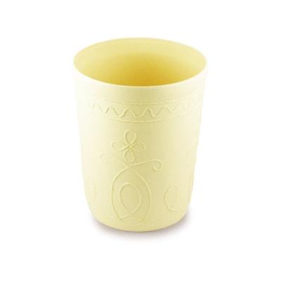 時尚花紋書報桶(米色圓形2入)