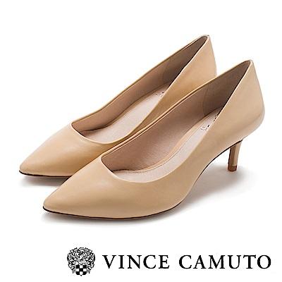 Vince Camuto 小資首選素面高跟鞋-米色